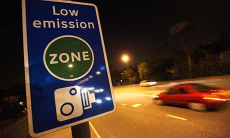 Les ZAPA, le CO2 et le péage urbain