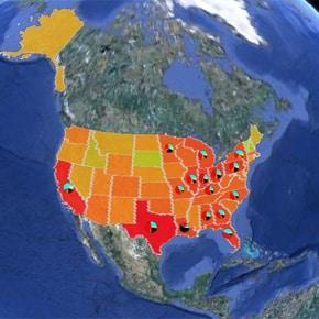 Les Américains, le CO2 et la pollution de l'air