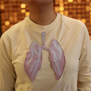Un tee-shirt qui détecte la pollution de l'air