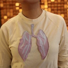 Un tee-shirt qui détecte la pollution de l'air