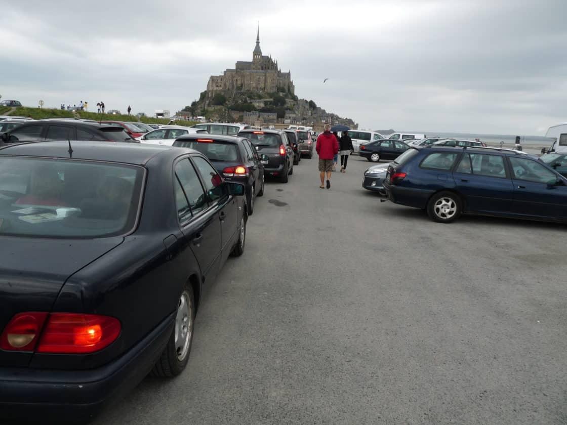 La voiture de Saint-Michel