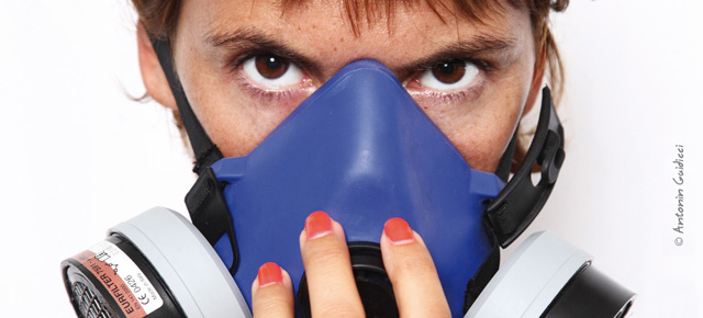 Bas les masques : l'exposition de l'association RESPIRE