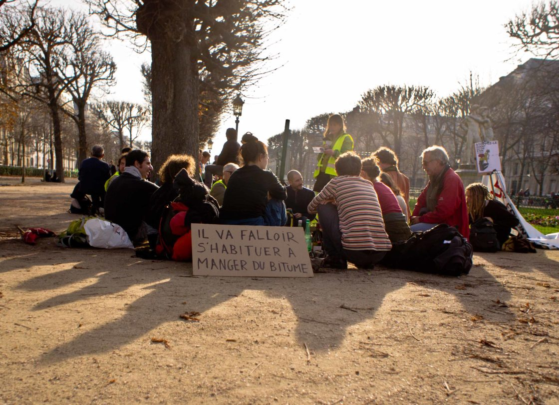 La tracto-vélo respire à Paris
