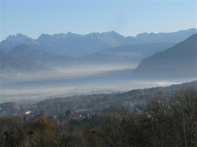Dans la vallée du Mont Blanc, on étouffe dans un air pollué, par Claude Comet
