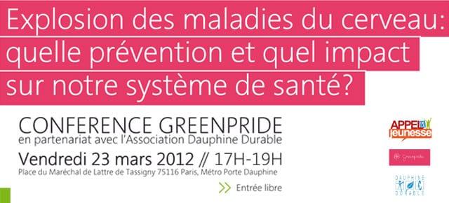 Santé et environnement : conférence à Dauphine vendredi 23 mars