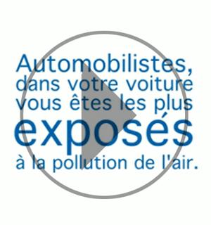 Pollution de l'air: automobilistes, vous êtes les plus exposés [ CLIP Vidéo ]