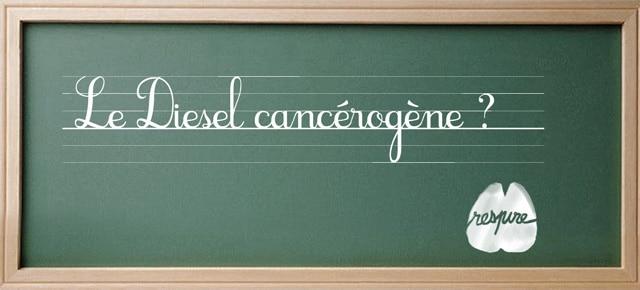 Diesel : les gaz d'échappement classés cancérogènes par l'OMS