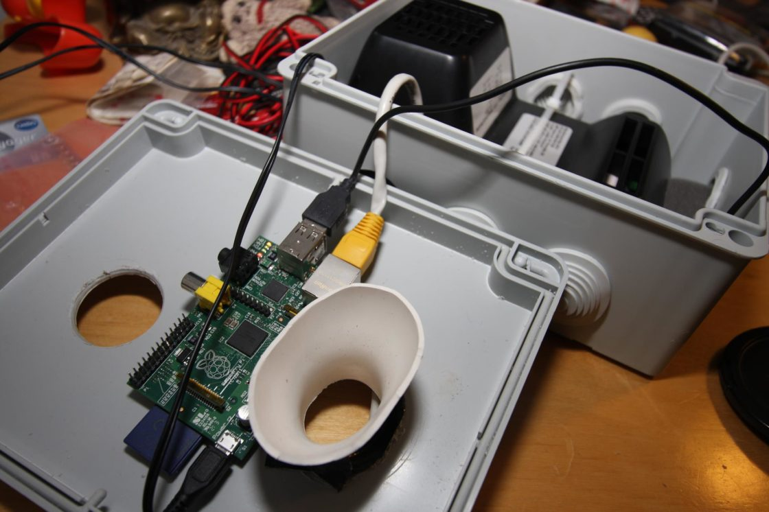 Respire, Citoyens Capteurs, Raspberry Pi, 1ère image de notre capteur de pollution de l'air