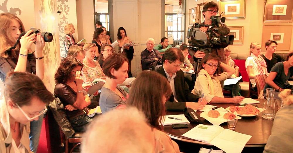 Conférence de presse en vue de la conférence environnementale