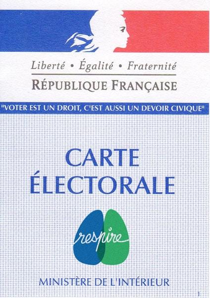 Inscris-toi sur les listes électorales