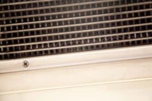 Aération à l'intérieur d'une rame de métro
