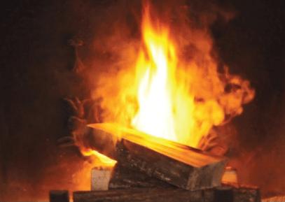 Chauffage au bois, feux de cheminée, oui ça émet beaucoup de polluants dans l'air