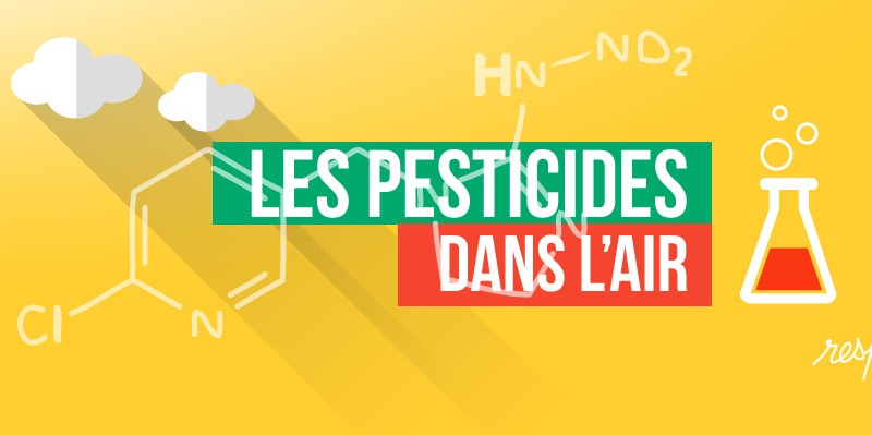 Les pesticides dans l'air