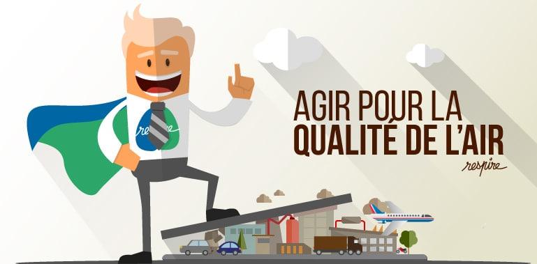 Agir pour la qualité de l'air