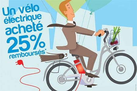 Bingo pour le vélo électrique